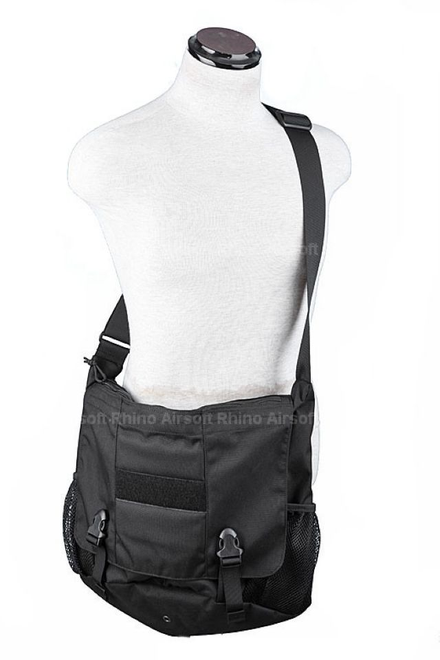 Pantac Low Profile Courier Bag (Large / Black / Co