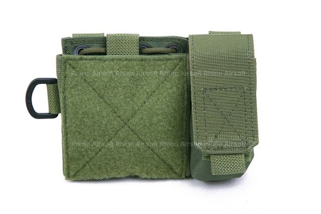 Pantac MOLLE Small Administrative Pouch (OD / Cordura)