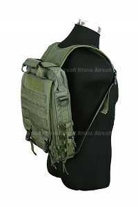 View Pantac Vertical Accessories Backpack (OD, Cordura) details