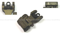 View Bomber Troy Style Rear Sight (FDE) - Version A details