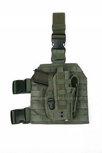Pantac Molle Style Leg Panel with Holster (RG / CORDURA)