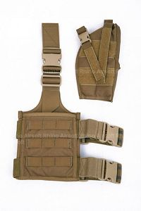Pantac SpecOps Seals Drop Leg Holster (Coyote Brown, Cordura, Ambidextrous)