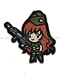 View Mil-Spec Monkey - Gun Girl 1 in High Contrast details
