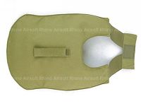View Pantac Outer Tactical Vest Under Arm Pads (Khaki, Cordura) details