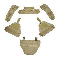 View Pantac Force Recon Protective Accessory Kit (Khaki / Cordura) details