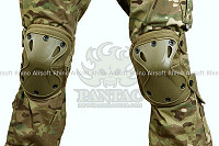 View Pantac X-Force Knee Pad details