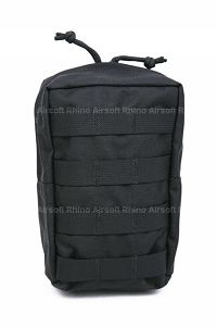 View Pantac MOLLE Vertical Accessories Pouch (Black / Cordura) details