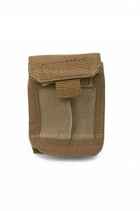 View Pantac MOLLE Medical Gloves Pouch (Coyote Brown / Cordura) details