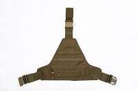 View Pantac MOLLE Triangular Leg Panel (Small / CB / Cordura) details