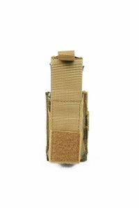 View Pantac MOLLE 9mm Pistol Mag Pouch with Hard Insert (Crye Precision Multicam / Cordura) details