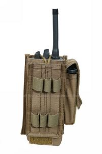 View Pantac Spec Ops MALICE Universal Radio Pouch (Coyote Brown / Cordura) details