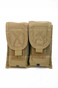 View Pantac RAV Double Flash Bang Pouch (Left Open / Khaki / CORDURA) details