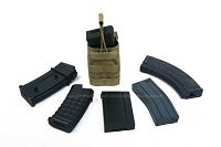 View Pantac OPEN TOP Single MAGAZINE Pouch (Khaki / CORDURA) details