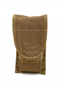 View Pantac SDS MOLLE Single M16 Double Mag Pouch (CB, Cordura) details