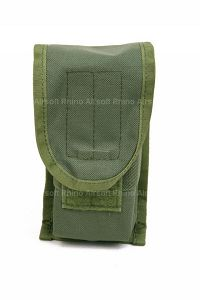 View Pantac SDS MOLLE Single M16 Double Mag Pouch (OD, Cordura) details