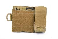 View Pantac MOLLE Small Administrative Pouch (Crye Precision Multicam / Cordura) details