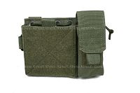 View Pantac MOLLE Small Administrative Pouch (RG / Cordura) details