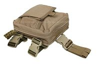 View Pantac MOLLE Spec Ops Dropleg Medic Pouch (Coyote Brown / Cordura) details