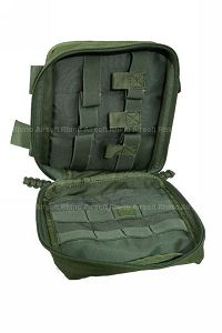 View Pantac MOLLE Spec Ops Dropleg Medic Pouch (OD / Cordura) details