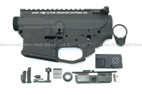 Prime CNC Upper & Lower Receiver for WA M4 Series - Magpul PTS Licensed Lower with Noveske MUR-1