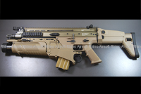 RAC (Rhino Airsoft Custom) WE SCAR GBB with VFC EGLM DX