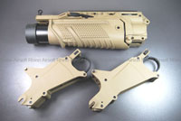 View VFC Ehanced Grenade Launcher Module (EGLM) STD version - Tan details