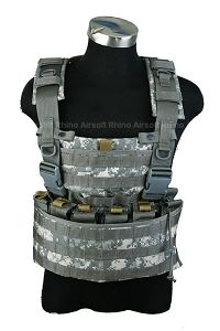 View Pantac WASATCH Chest Rig (Medium / ACU / Cordura) details