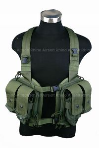 View Pantac LBT NSW Split Front Chest Vest (OD, Cordura) details