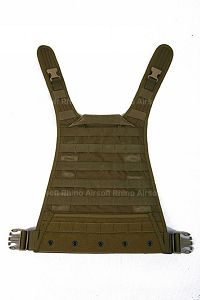 View PANTAC MBSS / RRV Molle Back Plate (CB, Cordura) details