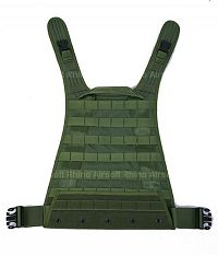 View PANTAC MBSS / RRV Molle Back Plate (OD, Cordura) details