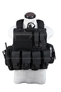 View PANTAC Force Recon Vest Mar(Black / Medium / CORDURA) details