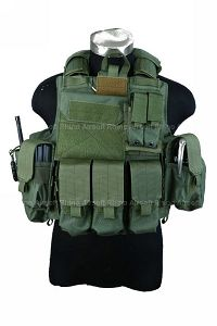 PANTAC Force Recon Vest Mar (OD / Small / CORDURA)