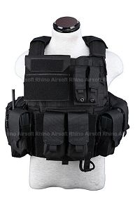 View PANTAC Force Recon Vest Land (Black / M / CORDURA) details