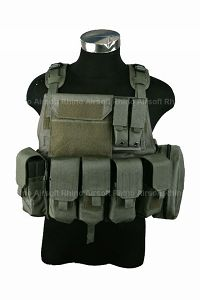 View Pantac MOLLE Style PC Plate Carrier  (Medium / RG / Cordura) details