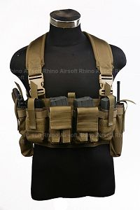 View Pantac M4 Tactical Chest Vest (CB / CORDURA) details