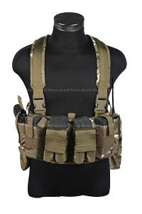 View Pantac M4 Tactical Chest Vest (Crye Precision Multicam / Cordura) details
