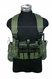 View Pantac M4 Tactical Chest Vest CORDURA (OD) details