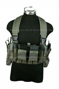 View Pantac M4 Tactical Chest Vest (RG / CORDURA) details