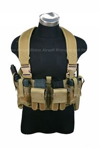 View Pantac M4 Tactical Chest Vest CORDURA (Khaki) details