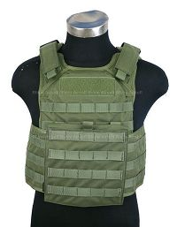 View Pantac Molle Tactical Plate Carrier Full Set (OD / Medium / Cordura) details