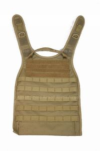View Pantac MOLLE RRV Back Panel (Coyote Brown / Cordura) details